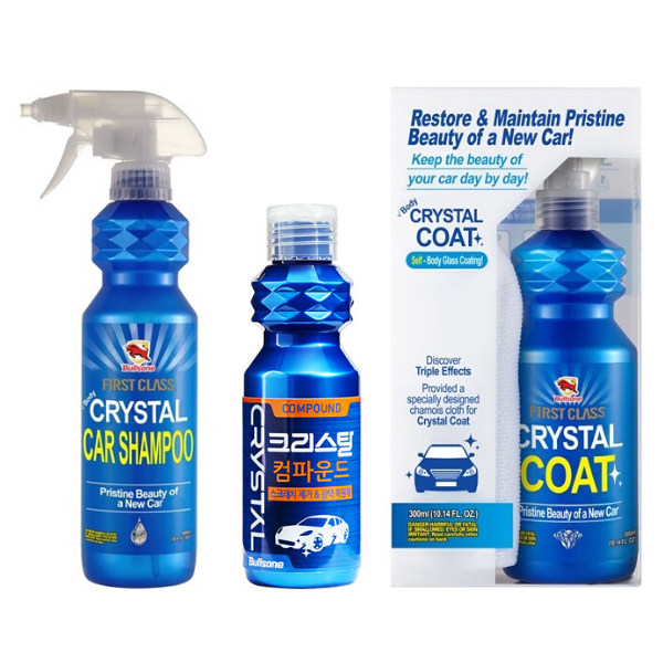 Kit Crystal - Shampoo + Micropulimento + Sellante